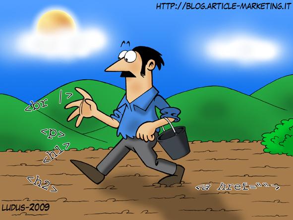 Vignetta sui tag HTML